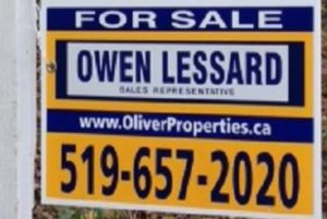 grand bend Oliver and associates ontario real estate by owen lessard